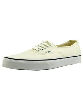 8e8572df264 Product Image Vans Authentic Men Round Toe Canvas White Sneakers