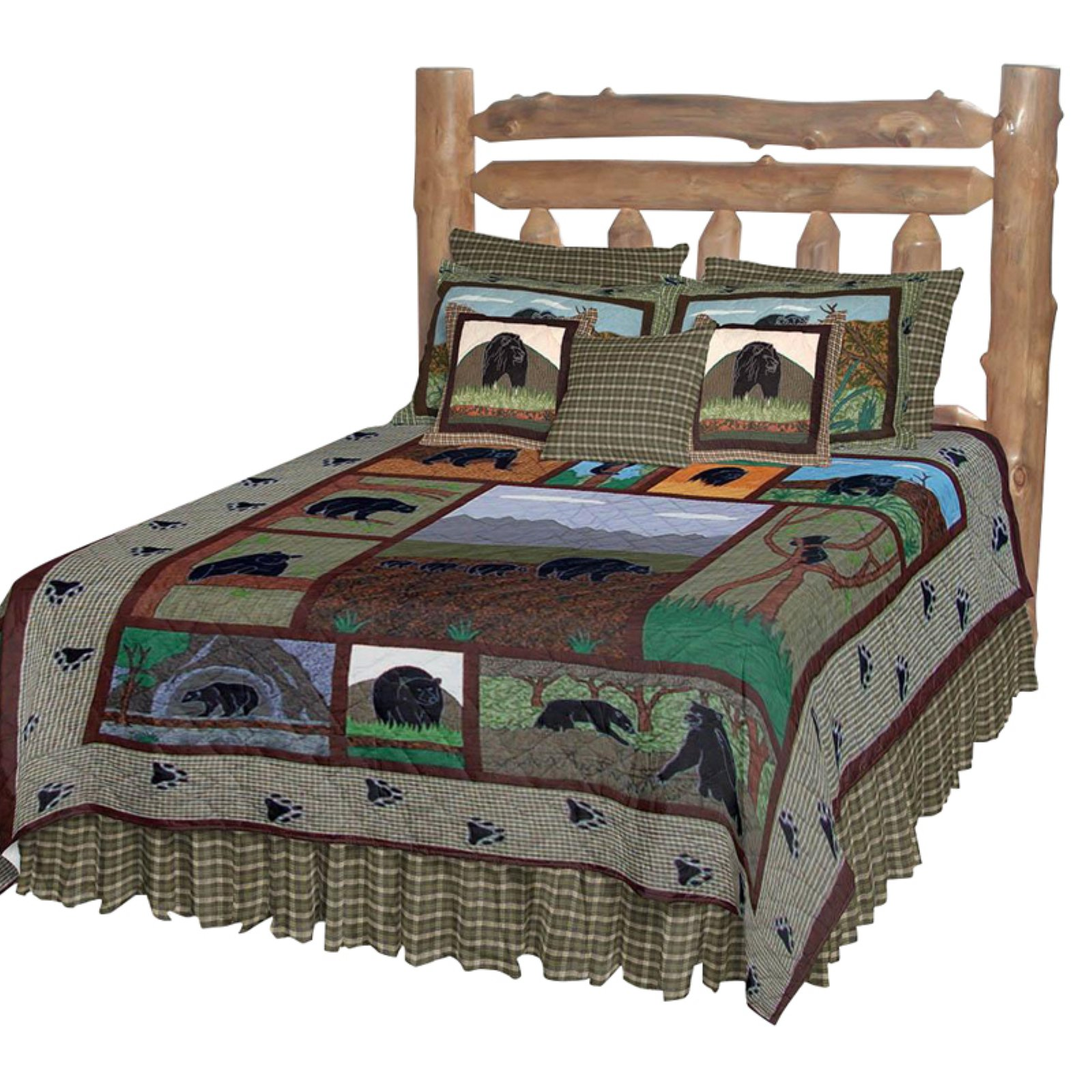 Patch Magic Bear Country Luxury Quilt
