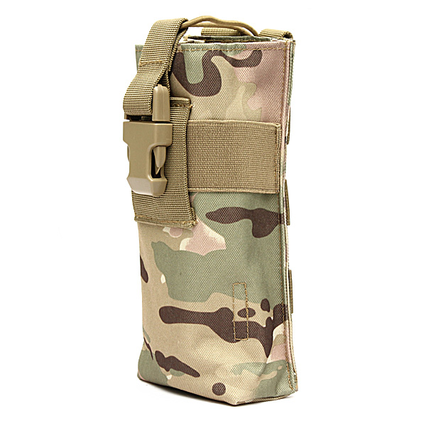 New Outdoor Hiking Tactical Military Molle Water Bottle Thermos Kettle Bag Pouch