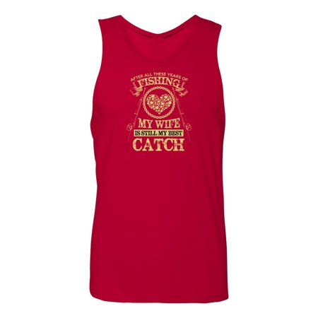 Wife Is My Best Catch Mens  Tank