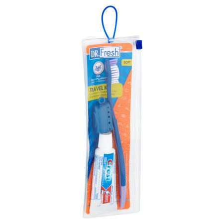 Best DR. Fresh Soft Toothbrush Travel Kit deal