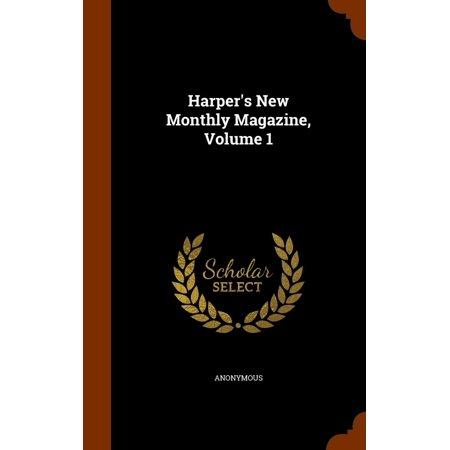 Monthly Hobby Magazine - Harper's New Monthly Magazine, Volume 1