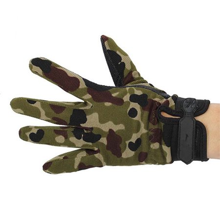 Outdoor Sport Mitten Camouflage Game Training Multifunctional Universal Honorable Person CS Riding Non-slip Glove - image 4 de 5