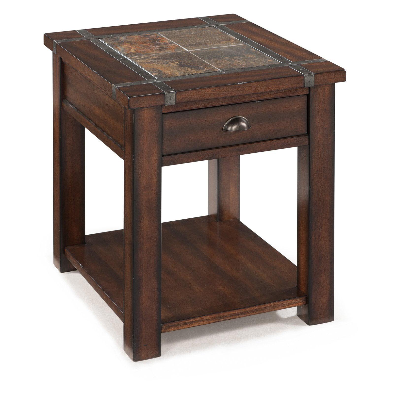 Magnussen Roanoke Rectangle End Table