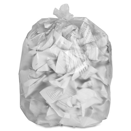 "Special Buy High-density Resin Trash Bags - Extra Large Size - 56 gal - 43"" Width x 47"" Length x 0.55 mil (14 Micron) Th"