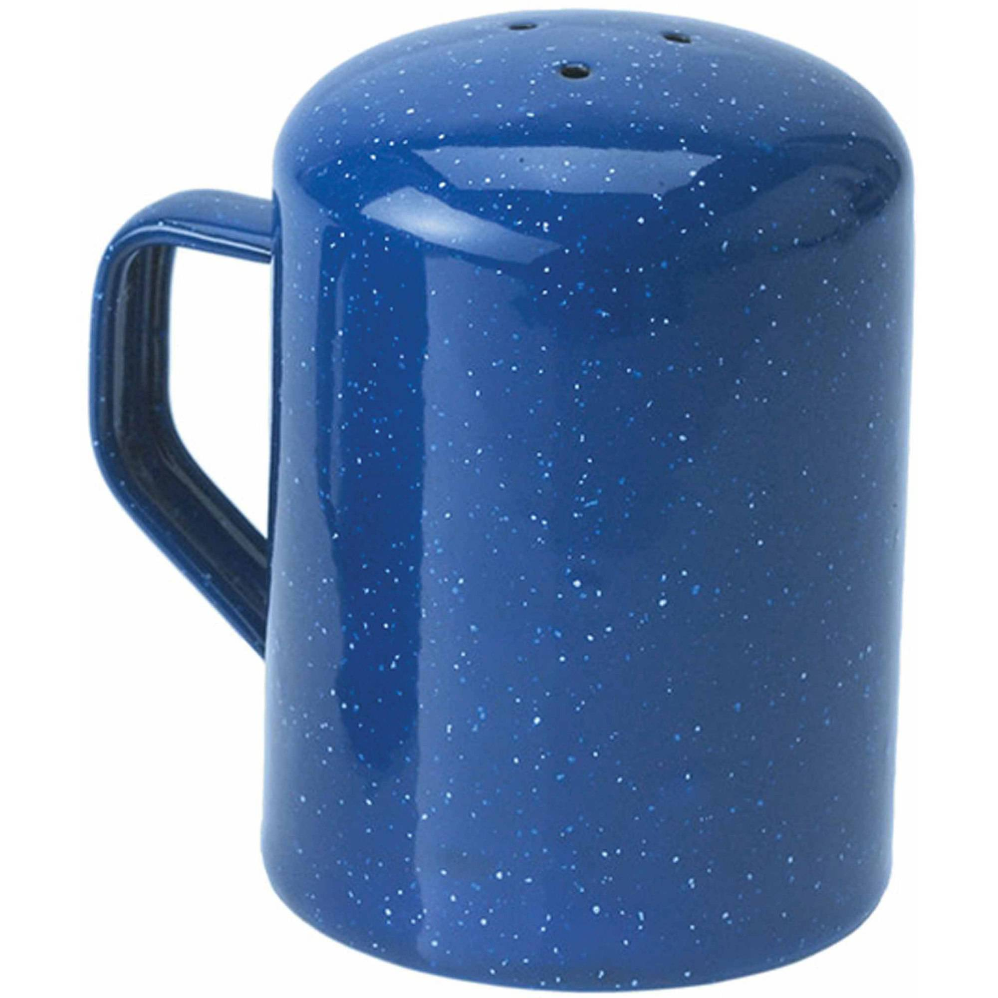 Motorscan Gsi Outdoors Enamelware 3-Hole Salt Shaker, Blue