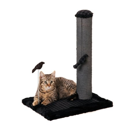 Max & Marlow Scratch Post, Medium, Gray Sisal, 20""
