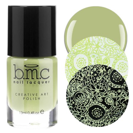 BMC Tropix Creamy Summer Fashion Creative Nail Art Stamping Polish Collection - 6