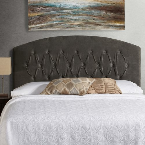 Mozaic Company Humble and Haute Hanover Curved Upholstered Headboard