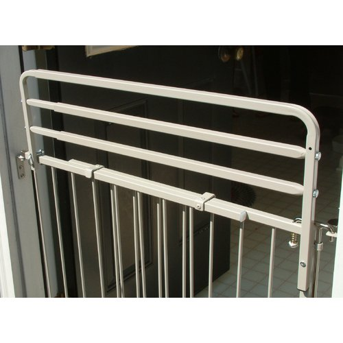 "Cardinal Gates Height Extension for Duragate, White, 26.5"" x 8"""