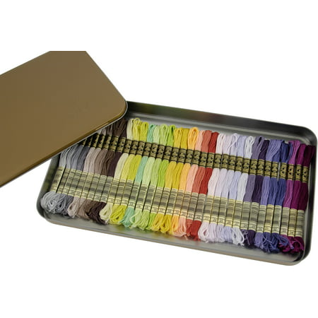 - DMC Embroidery Floss Tin 8.7yd 35/Pkg-New Colors