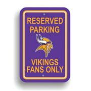 NFL Minnesota Vikings Parking Sign