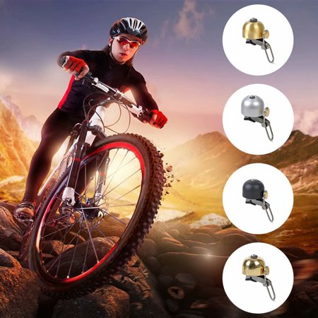 Copper Double Handlebar - Akoyovwerve Bicycle Bell for Handlebars
