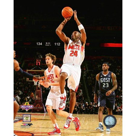 Kobe Bryant 2008-09 NBA All-Star Game Action Photo Print