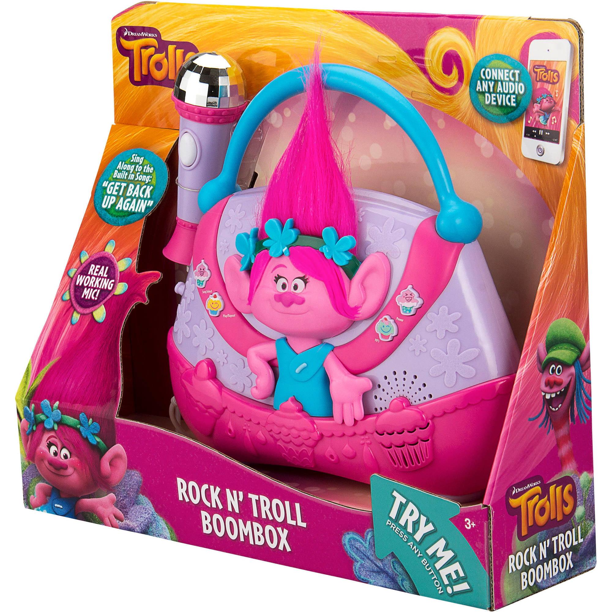 "NEW 3 1//2/"" Toys N/' Things Troll Doll ROCK N/' TROLL SKATEBOARD GIRL"
