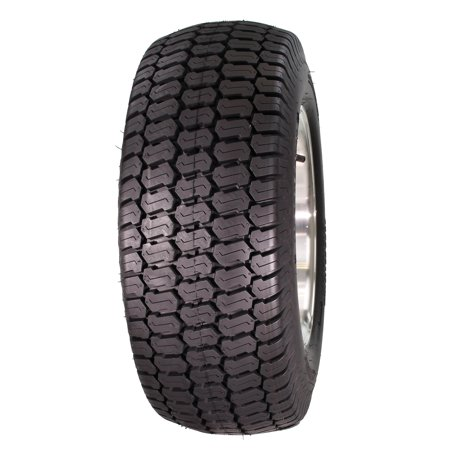 12 Turf Tread Tire - Greenball Ultra Turf 16X6.50-8 6 PR Turf Tread Tubeless Lawn and Garden Tire (Tire Only)