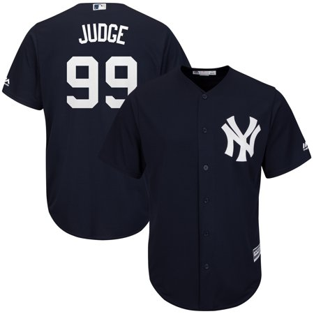 Aaron Judge New York Yankees Majestic Fashion Official Cool Base Player Replica Jersey - -