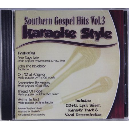 Southern Gospel Hits Volume 3 Daywind Christian Karaoke Style NEW CD+G 6 Songs