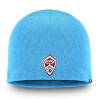 Colorado Rapids Fanatics Branded Core Knit Beanie - Sky Blue - OSFA
