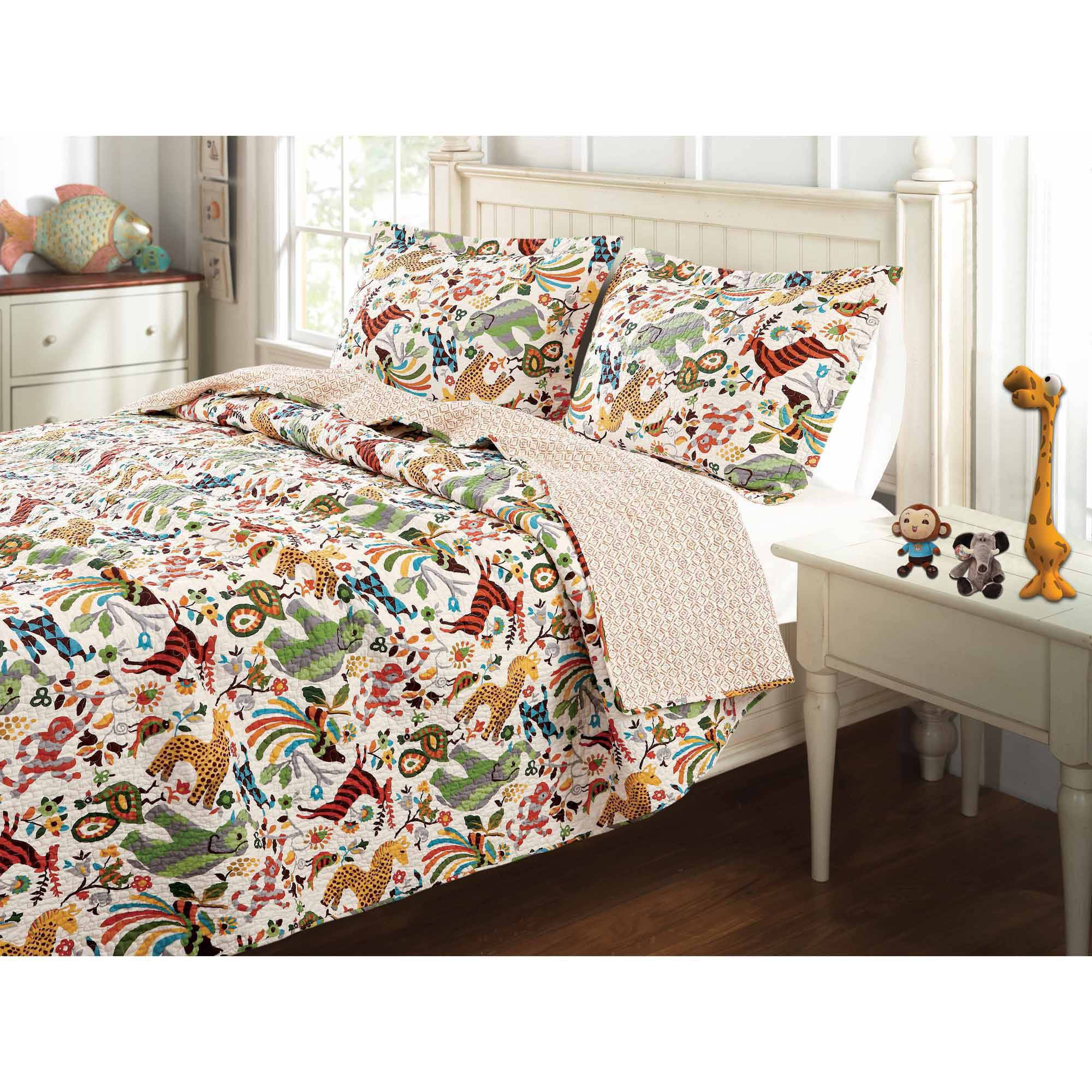 Greenland Home Fashions Global Trends Serengeti Place Bedding Quilt Set