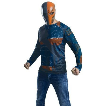 Adult Deathstroke Batman Costume Shirt by Rubies 881391 - Deathstroke Costumes