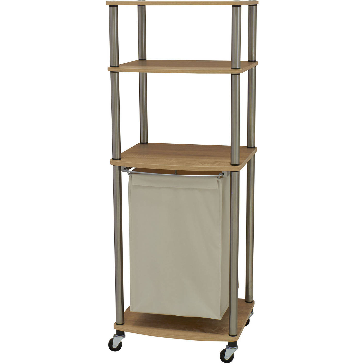 household essentials laundry hamper storage cart - Laundry Carts