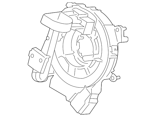 Genuine Oe Ford Clock Spring Hl3z 14a664 B