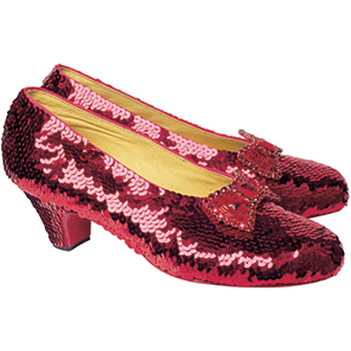 "Jigsaw Shaped Puzzle 500 Pieces 17""X23""-Oz-Ruby Slippers"