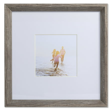 5x5 Wide Border Matted Frame - Gallery Gray - Halloween Frames Borders