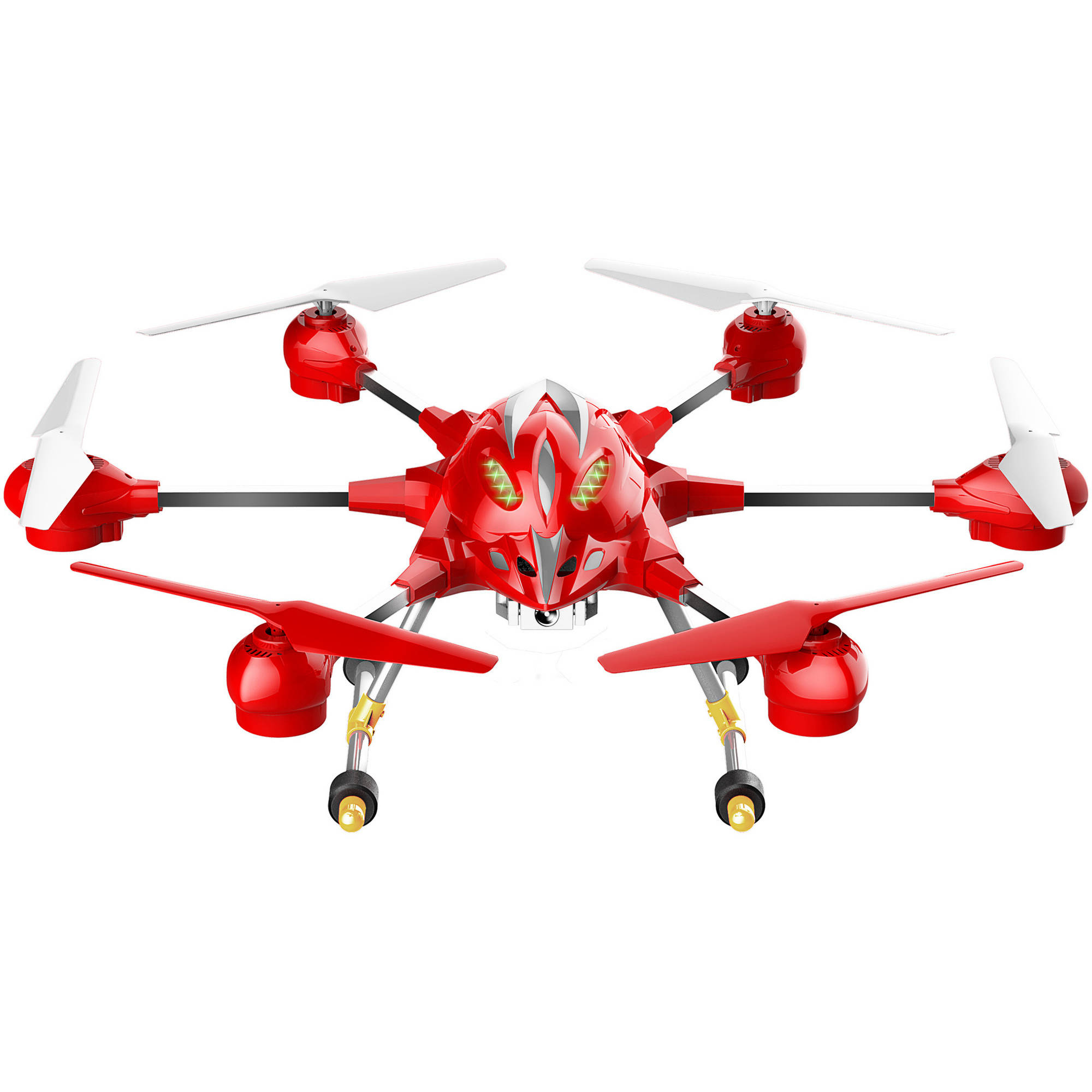 Creative Sourcing International Riviera RC Pathfinder Hexacopter WiFi Drone, Red