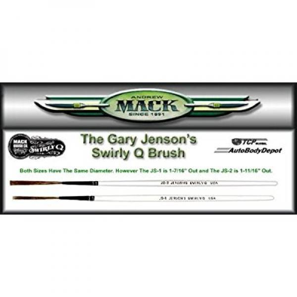 MACK Jenson Swirly Q PINSTRIPING/PINSTRIPE 2 BRUSH SET