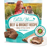 The Pioneer Woman Grain Free, Beef & Brisket BBQ Natural Dog Treats (Various Sizes)