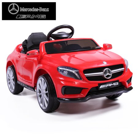 Jaxpety 6V Kids Ride On Electric Car Mercedes Benz Licensed MP3 RC Remote Control Red