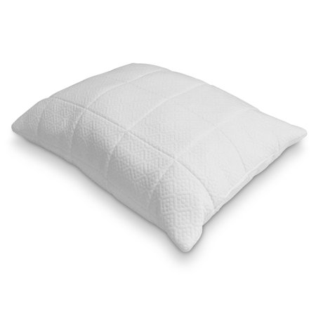 Rio Home Fashions 0 25 In Quilted Memory Foam Pillow Walmart Com