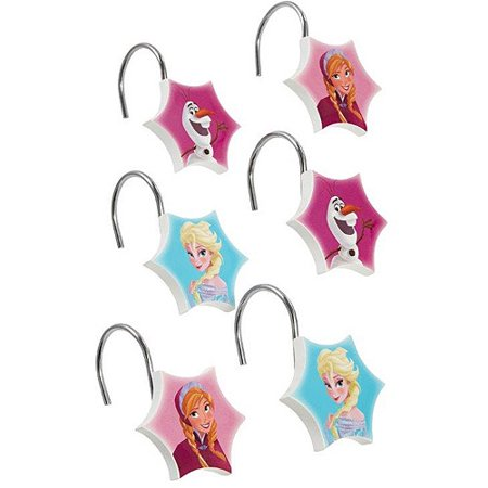 Disney Frozen Shower Curtain Hooks