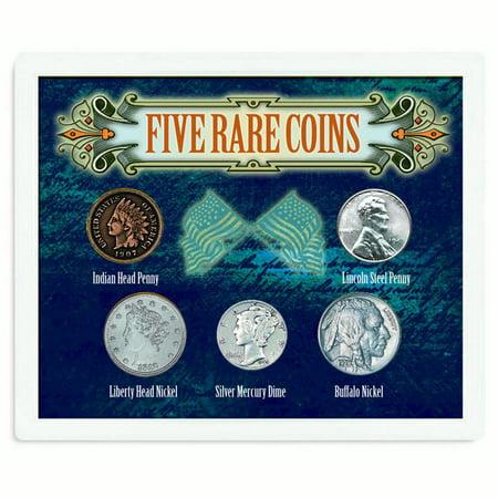 Five Rare Coins