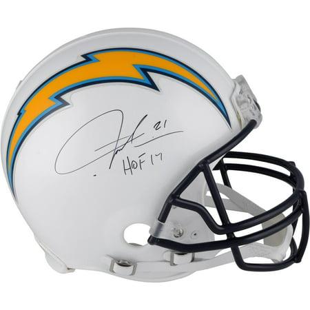 "LaDainian Tomlinson San Diego Chargers Autographed Pro-Line Helmet with ""HOF 17"" Inscription - Fanatics Authentic Certified"