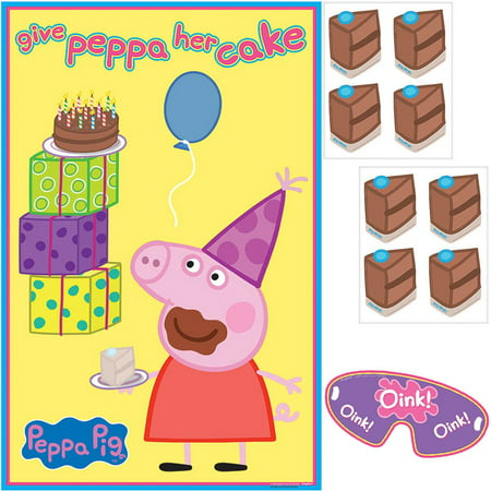 Peppa Pig Party Game - Party Supplies - Peppa Pig Birthday Supplies