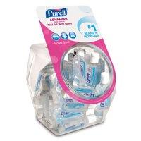 PURELL Advanced Hand Sanitizer Refreshing Gel Display Bowl, 36-1 oz. Bottles (3901-36-BWL)