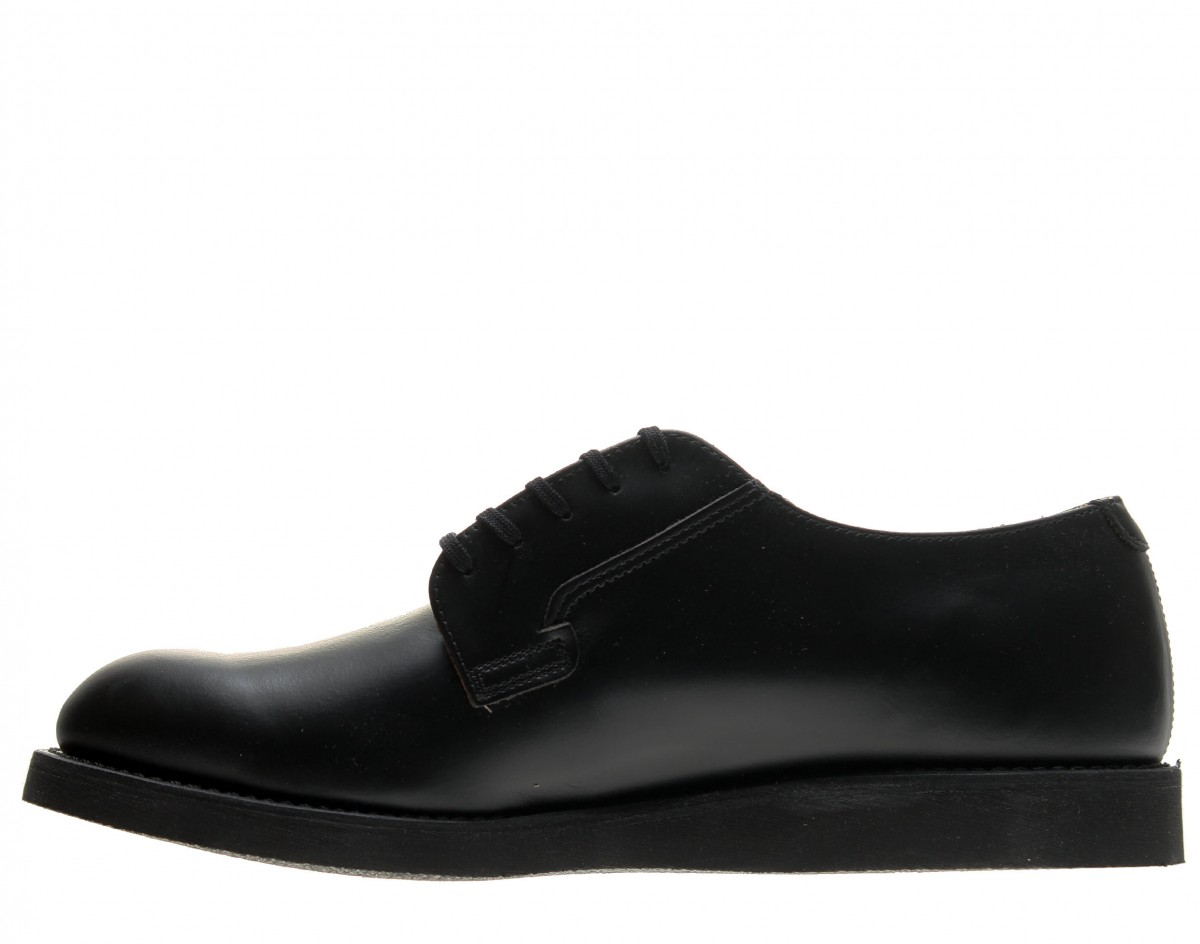 69ca3500 Red Kap - Red Wing Heritage 101 Postman Oxford Black Chaparral Men's Shoes  00101 - Walmart.com