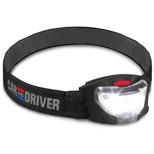 Car And Driver 3 Led Headlamp 2 Pack Walmart Com