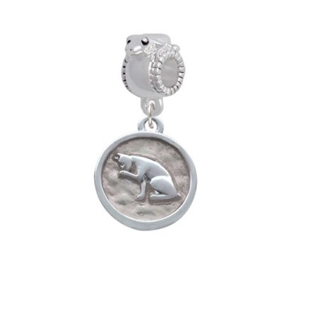 Sitting Cat   Round Seal   Frog Charm Bead