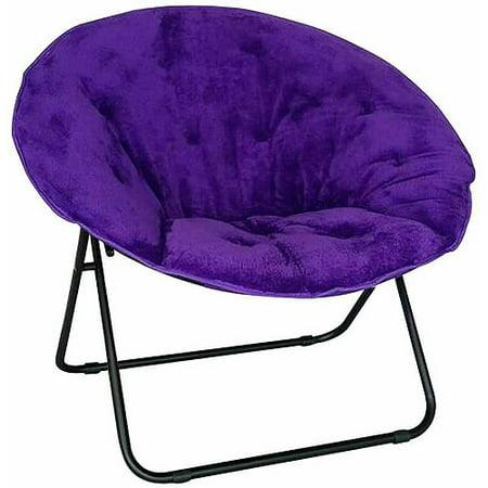 Luxe Saucer Chair, Multiple Colors - Walmart.com