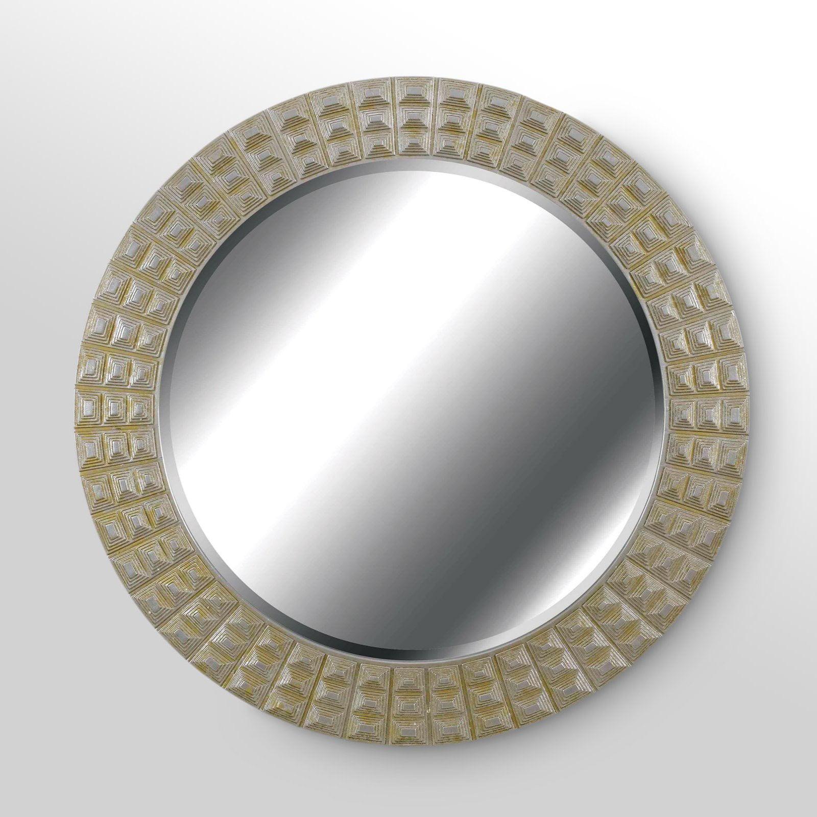 Bezel Wall Mirror - 32 diam.in.