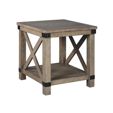 Aldwin Rectangular End Table - Rectangular Extending Table