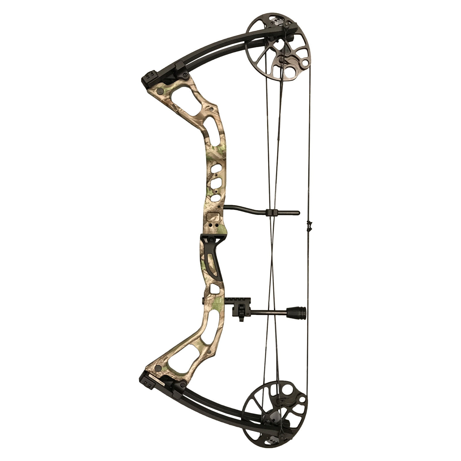 SAS Feud 25-70 Lbs 19-31'' Draw Length Compound Bow Hunting Target Field 300+FPS by SAS