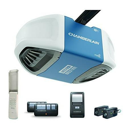 Chamberlain B550 1/2 HP MyQ Wi-Fi Belt Drive Garage Door
