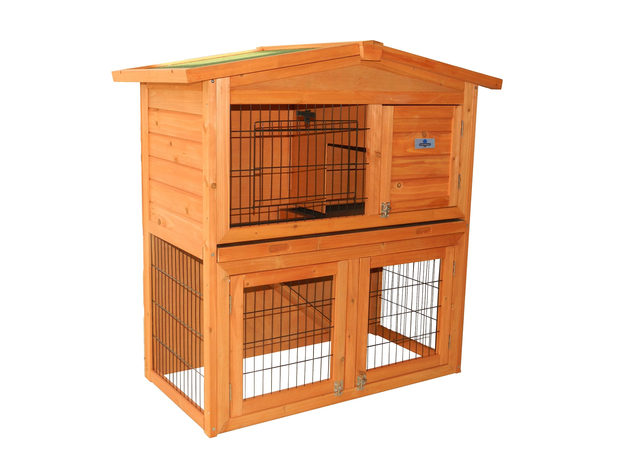 Confidence Pet 40� Rabbit Hutch Bunny Guinea Pig Cage Pen Chicken Coop by Confidence