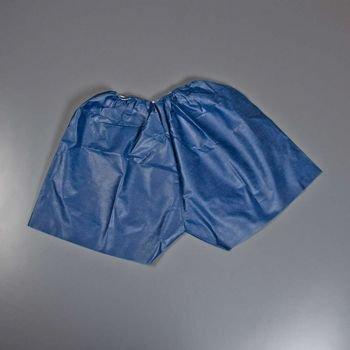 Graham Medical Patient Exam Nonwoven Medishorts - Navy Blue