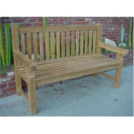 Teak  Devonshire 3-Seater Extra Thick Bench Bench Extra Thick Wood
